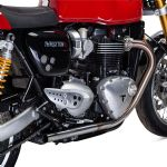"British Customs ""BRUSHED DRAG PIPES PERFORMANCE TIP"" Thruxton 1200™ BC902-058-BR"